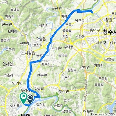 7-19 Sejong-ri, Sejong-si to 114-466 Sejong-ri, Sejong-si