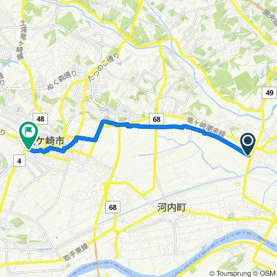 2896, Nakayama, Inashiki-Shi to 5588, Kawarashiromachi, Ryugasaki-Shi