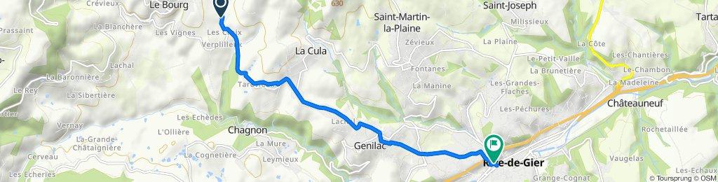 Easy ride in Saint-Romain-en-Jarez