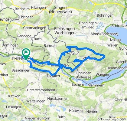 Rundtour über Rodenberg -Schienerberg - Hohenklingen