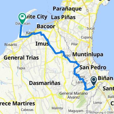 Maduya, Carmona to Custodio 140, Cavite City