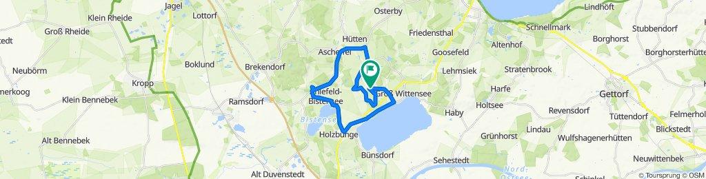 Kirchhorst 3, Groß Wittensee nach Kirchhorst 3, Groß Wittensee