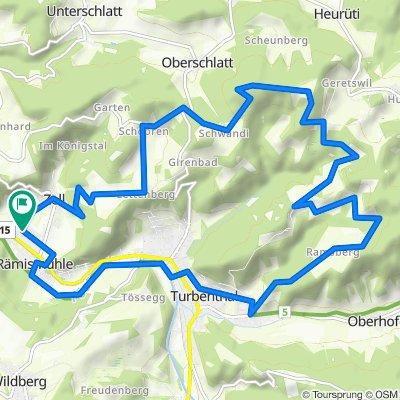 Zell - Schauenberg - Schnurrberg