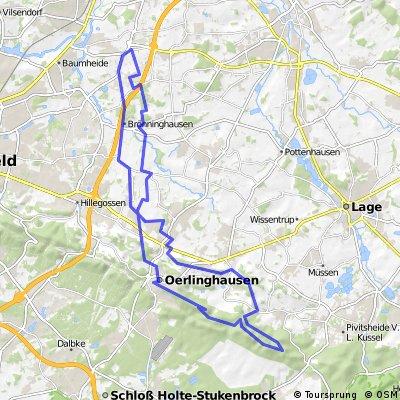 Altenhagen, Ubbedissen, Hermannsweg, Hörste