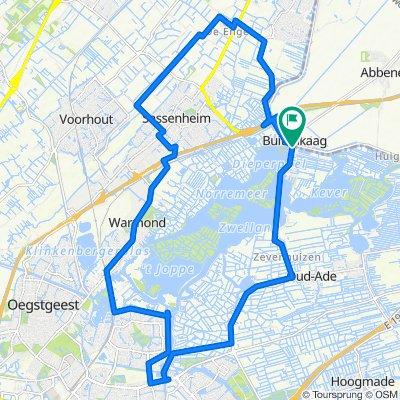Kaag route