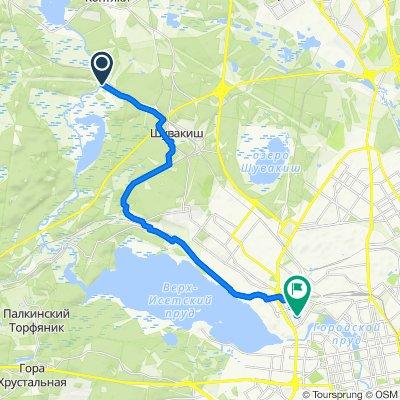 Неторопливый маршрут в Екатеринбург
