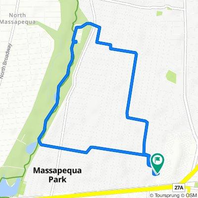Slow ride in Massapequa Park