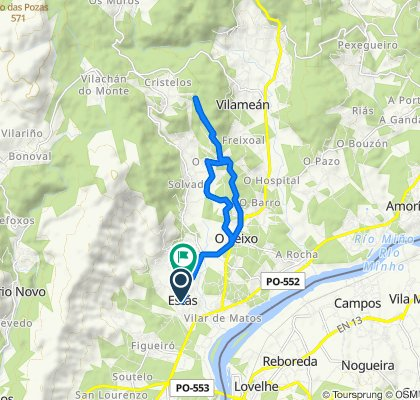 Easy ride in Tomiño