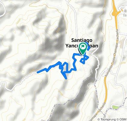 Paseo lento en Huixquilucan
