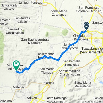 De Calle Tlaxcala 17 a A San Baltazar Atlimeyaya, Atlixco