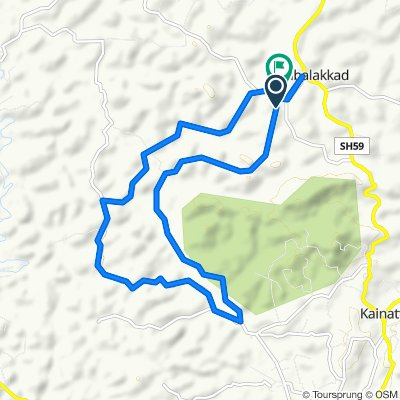 Moderate route in Wayanad