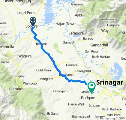 Unnamed Road, Sopore to Srinagar-Budgam Road