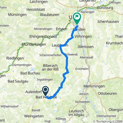 Oberschwaben Bad Waldsee Neu-Ulm