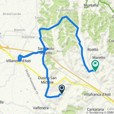Da Via Mulini 22, Dusino San Michele a Strada Nicoline 35