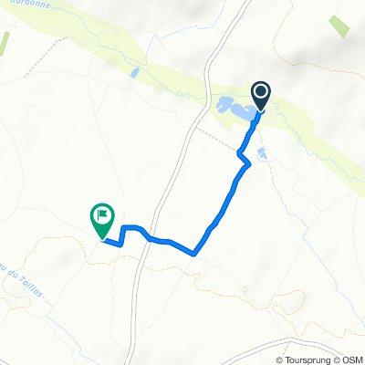 Restful route in Saint-Émilion