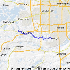 mostly roads to Normandale