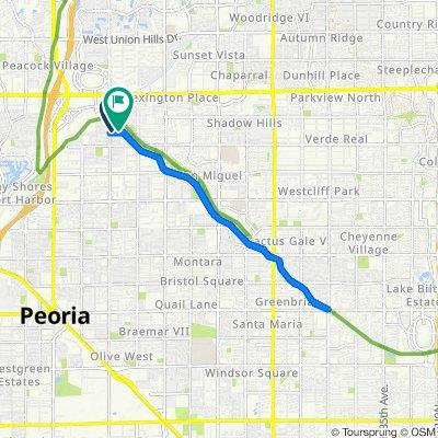 7431 W Tierra Buena Ln, Peoria to 15818 N 73rd Ln, Peoria