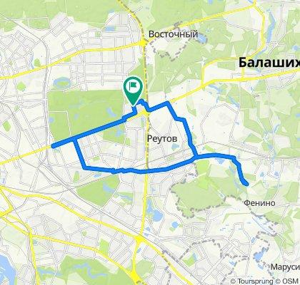 Велоездки  Салтыковка - Шоссе Энтузиастов 09 07 2020