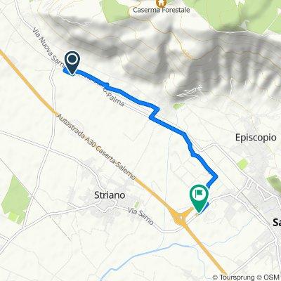 Da Via Sarno-Palma 235, Sarno a Via Sarno-Striano 71, Sarno