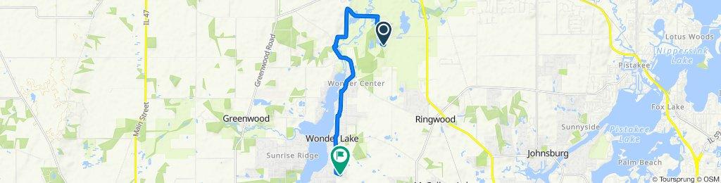 6512 Harts Rd, Ringwood to 7409 Wooded Shore Dr, Wonder Lake