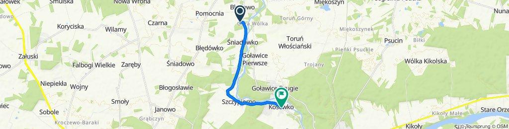 Błędowo 30F, Pomiechówek do Słowiańska, Kosewko