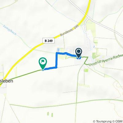 Zum Park 12, Sondershausen nach Unnamed Road, Kyffhäuserkreis