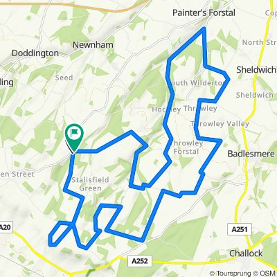 Kent Downs 35km loop