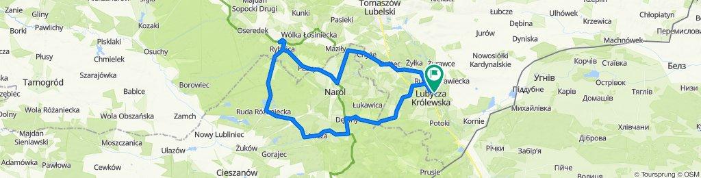 Easy ride in Lubycza Królewska