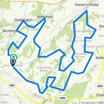 Kent Downs 46km loop