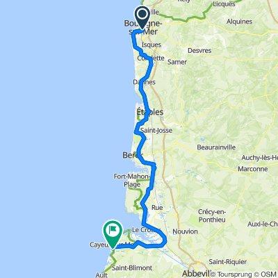 Mon Tour de France - Etape 1