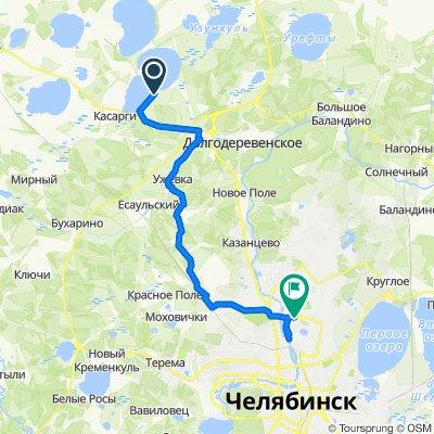 От Unnamed Road до улица Северный Луч, Челябинск