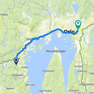 Borgenveien 174, Borgen to Gladengveien 16, Oslo