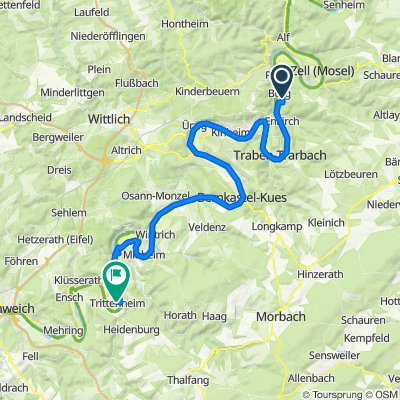 Unnamed Road, Burg(Mosel) nach B53 49, Trittenheim