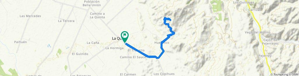 De L-55 a La Piedra del Batro, Longaví