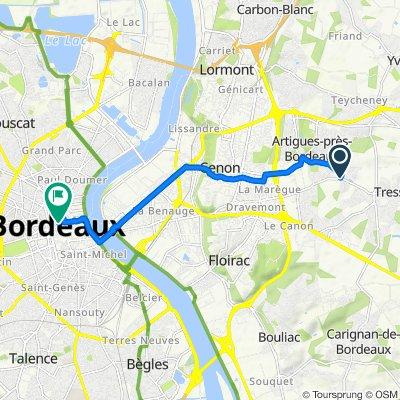 Easy ride in Bordeaux
