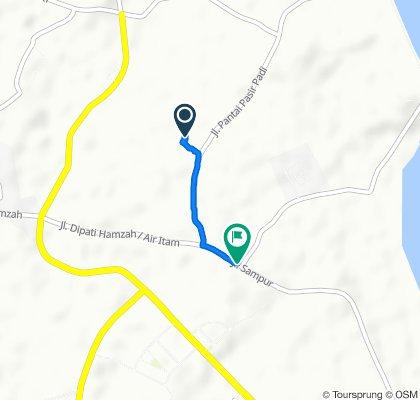 Jalan Raya Pasir Padi No.41, Bukit Intan to Jalan Depati Hamzah 372, Bukit Intan