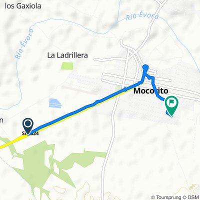 Steady ride in Mocorito