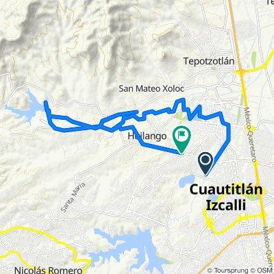 Steady ride in Cuautitlán Izcalli