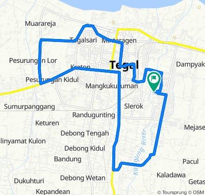 Blok E 25, Kecamatan Kramat to Blok E 25, Kecamatan Kramat
