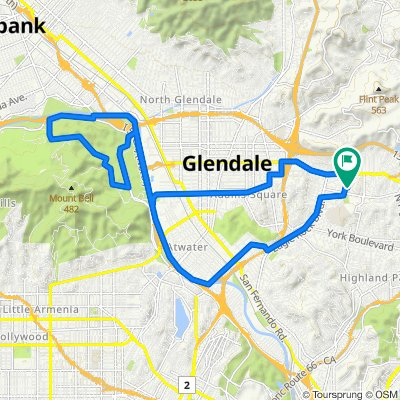 Griffith Park and Chevy Chase Dr.