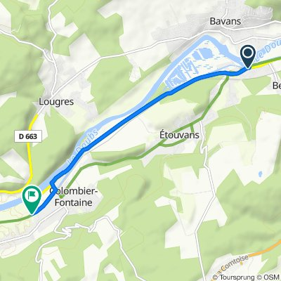 Steady ride in Colombier-Fontaine