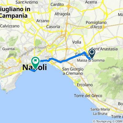 Moderate route in Pollena-Trocchia