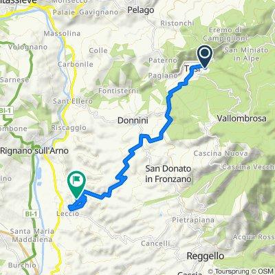 Easy ride in Reggello