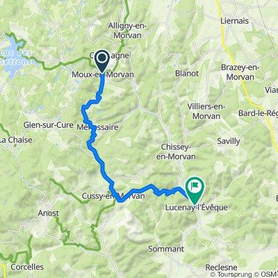 alternat Moux en morvan-Lucenay