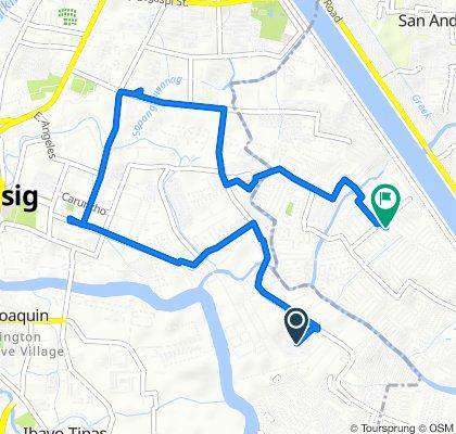 Route to 1 Citron Street, Cainta
