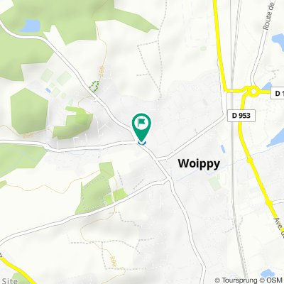 Steady ride in Woippy