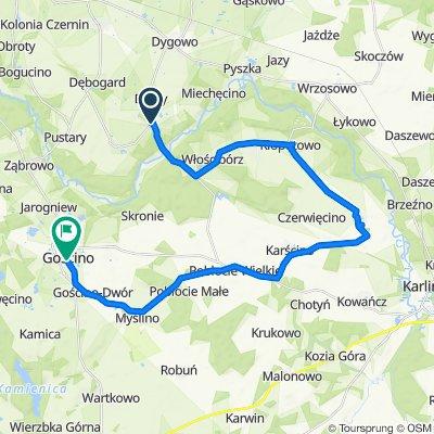 Unnamed Road do IV Dywizji Wojska Polskiego 32, Gościno