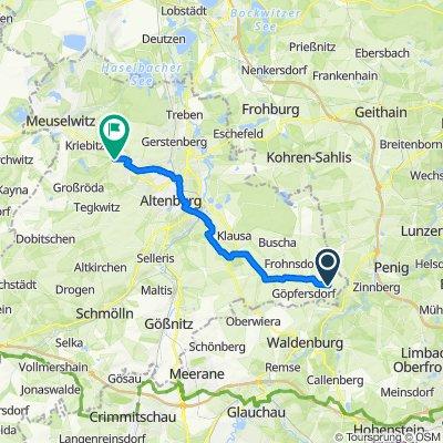 Schnelle Tour in Rositz