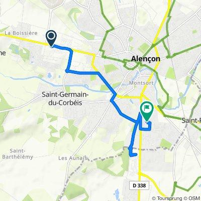 Cracking ride in Alençon