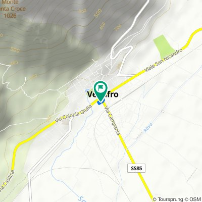Restful route in Venafro